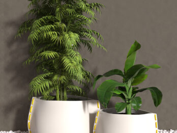 StormSystems Potteplante - Stich 50 Hvid